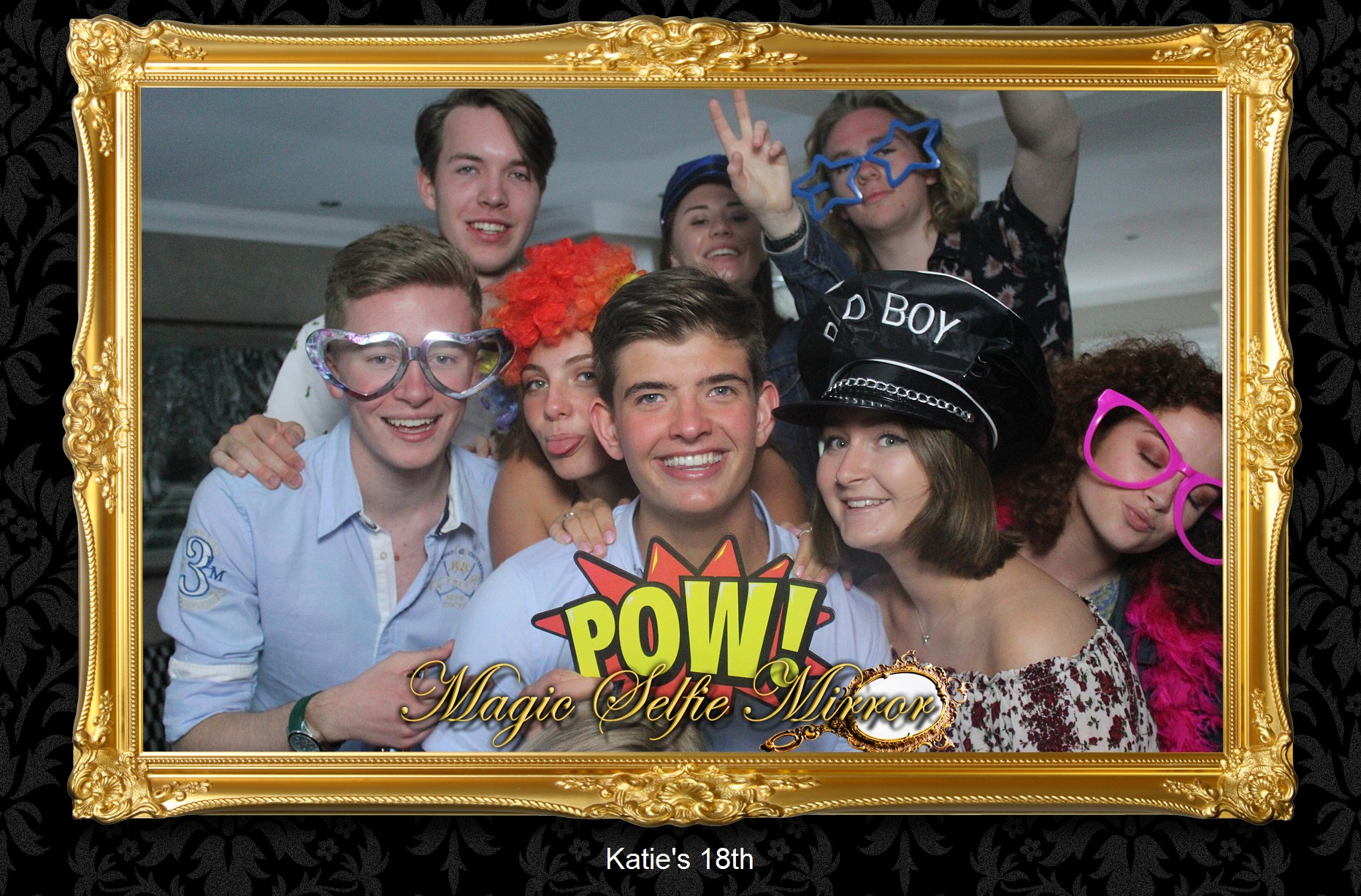 Selfie Mirror Photo Booth Hire In Colchester, Essex | London